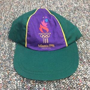 Vintage 1996 Atlanta Olympics SnapBack Rare